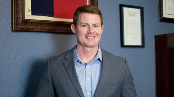 Michael Wood is running in the Republican primary for a US House seat in Texas.