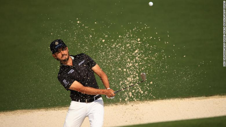 Abraham Ancer 'gutted' after two-stroke penalty for inadvertent bunker error at Masters