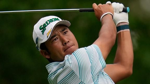 Matsuyama finished with a 7-under 65 on Saturday to take a four-shot lead into Sunday's final round.