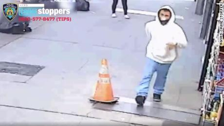 Joseph Russo, seen here, was charged earlier this week with a series of hate crimes in connection to three violent incidents against Asian New Yorkers within a month, according to the NYPD.
