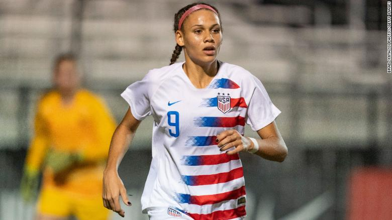 Trinity Rodman, daughter of former NBA star, scores on NWSL debut