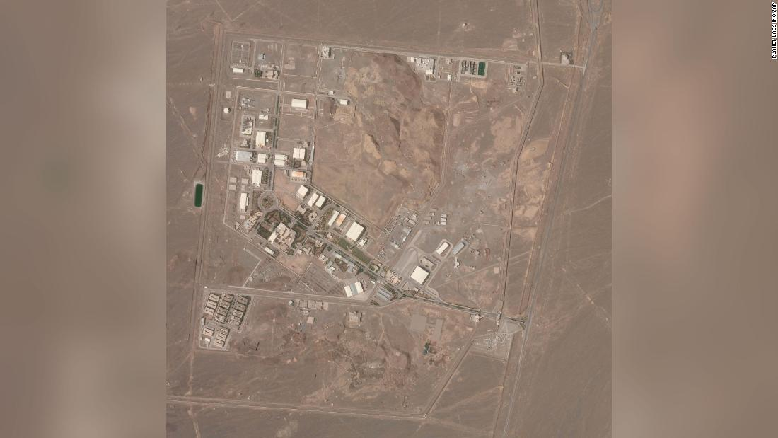 'Incident' at Iran's Natanz nuclear facility a day after starting up new centrifuges