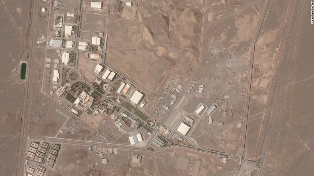 El jefe del ejército israelí parece insinuar un posible papel en el incidente del sitio nuclear de Irán