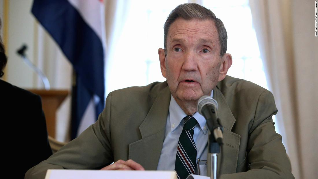 Former attorney general and legal activist Ramsey Clark dies at 93
