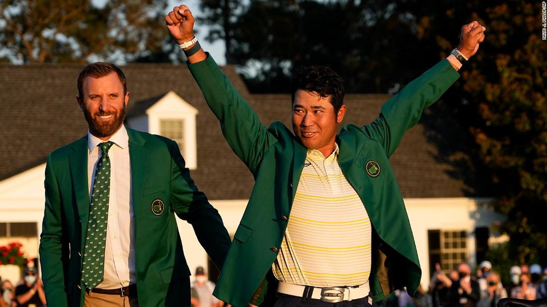 Hideki Matsuyama wins the 2021 Masters becoming first Japanese man to win golf major