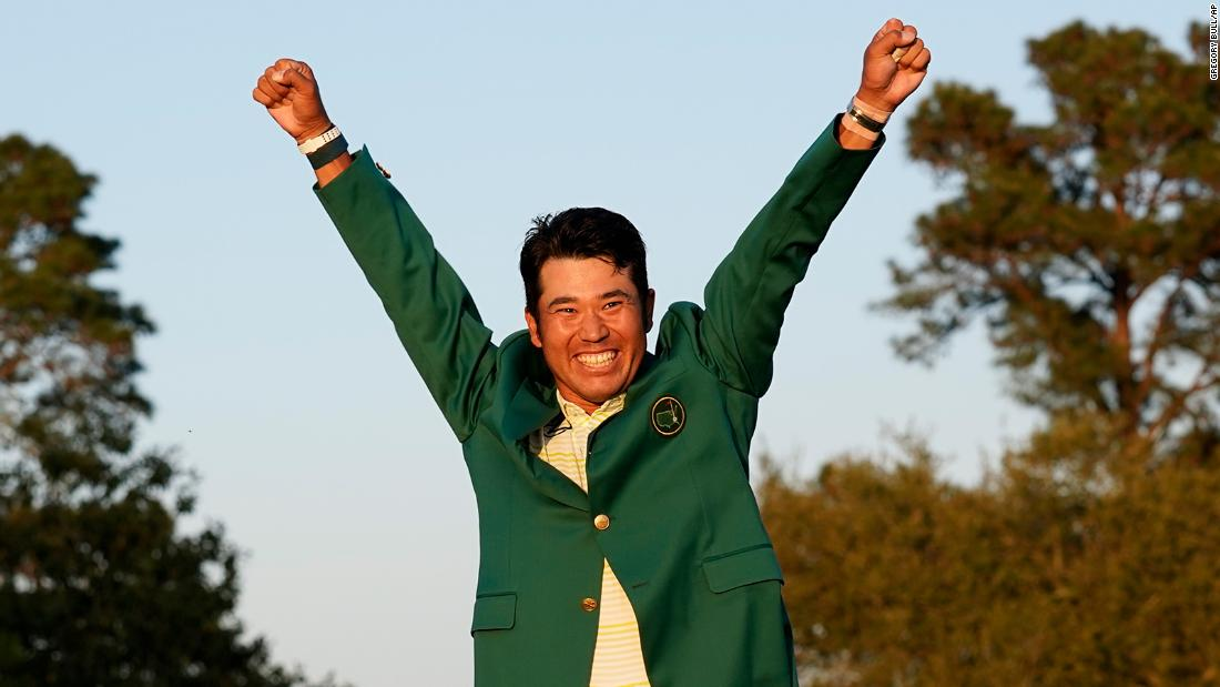 Hideki Matsuyama has won the Masters, becoming the first Japanese man to win any of golf's top four prizes