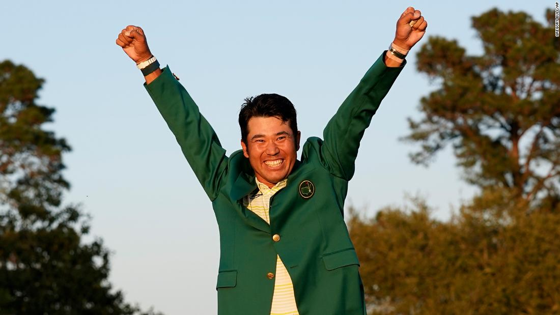 First Japanese man to win golf major
