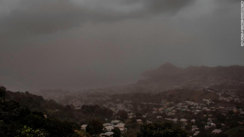 St. Vincent suffers power outage after La Soufrière volcano erupts