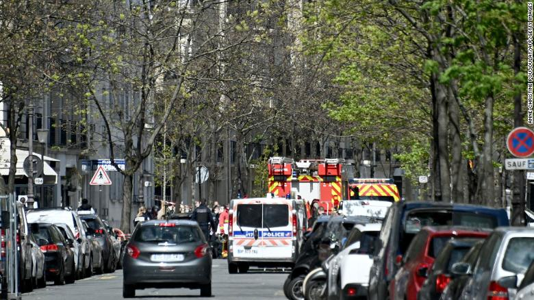 One dead, one injured in shooting outside Paris hospital