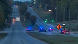 Multiple officers have been shot as the result of a police chase early Monday morning that ended in Carroll County, according to the Carroll County Sherriff's Office.