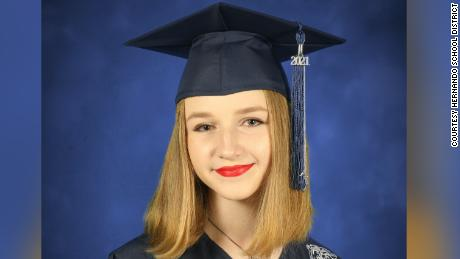 Valentina Tomashosky was a senior at Central High School in Brooksville, Florida, Hernando School District confirmed to CNN.