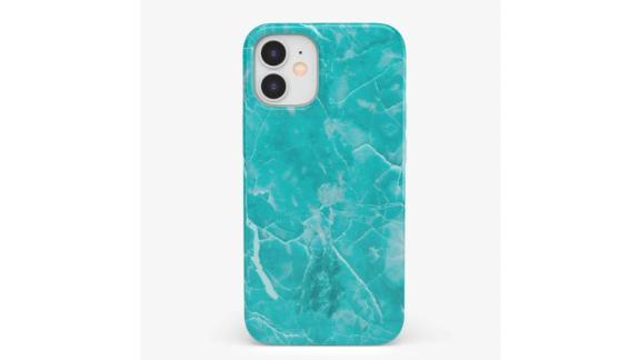 Beautiful Teal Blue Seaglass Case