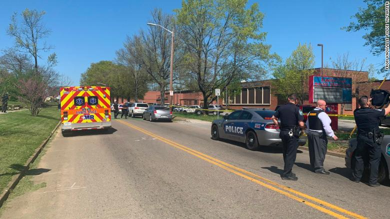 Knoxville police say multiple agencies are on scene of school shooting