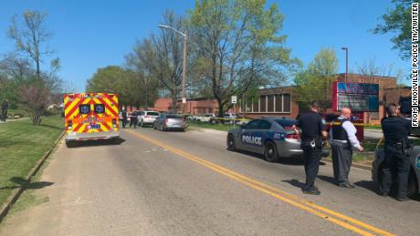One student is dead and a police officer was wounded after a shooting at a high school in Knoxville, Tennessee authorities say