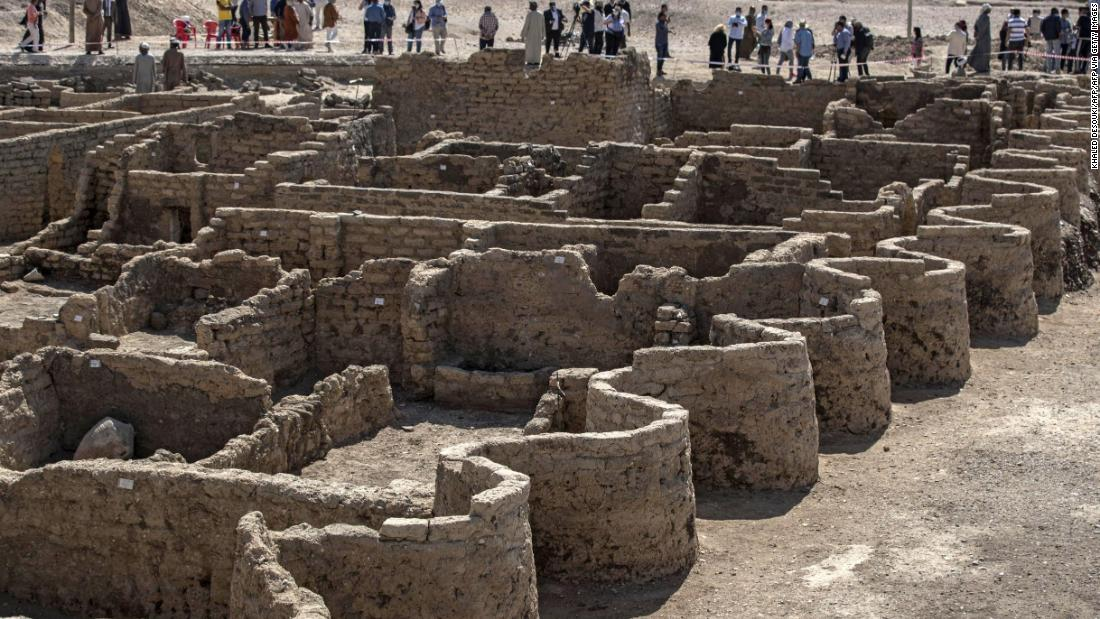 3,000-year-old city discovered and looks like it was 'left as if it were yesterday'
