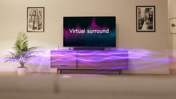 Roku's Streambar Pro features Virtual Surround to create a 5.1 experience digitally.