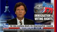 Tucker Carlson sneers at critics as he doubles down on 'replacement theory' remarks