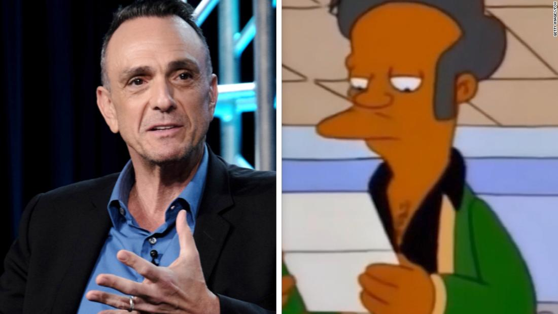 Hank Azaria feels need to apologize over 'Simpsons' Apu