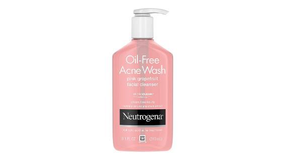 Neutrogena Pink Grapefruit Oil-Free Acne Wash