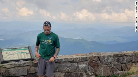 After hiking the first 300 miles in 2020, Dan Schoenthal got back on the trail April 3 to complete the remaining nearly 2,000 miles.