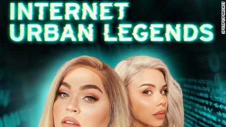 """(From left) Loey Lane and Eleanor """"Snitchery"""" Barnes are the hosts of the Spotify series """"Internet Urban Legends."""""""