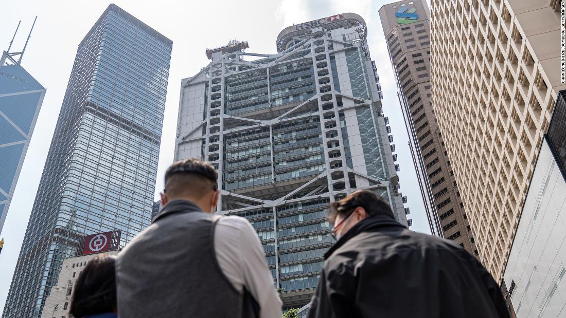 HSBC is moving the heart of the bank back to Hong Kong