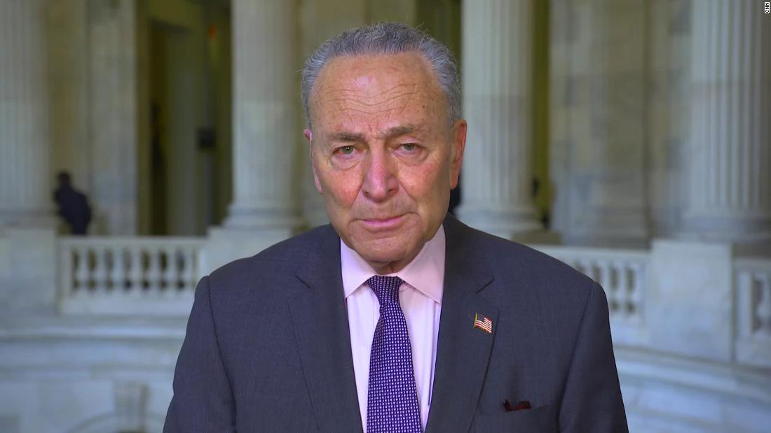 Schumer praises Biden's 'careful and thought-out plan' for Afghanistan