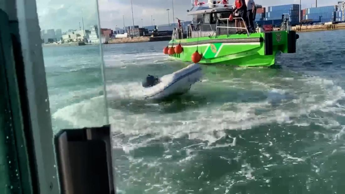 The Coast Guard is sending a warning with this video