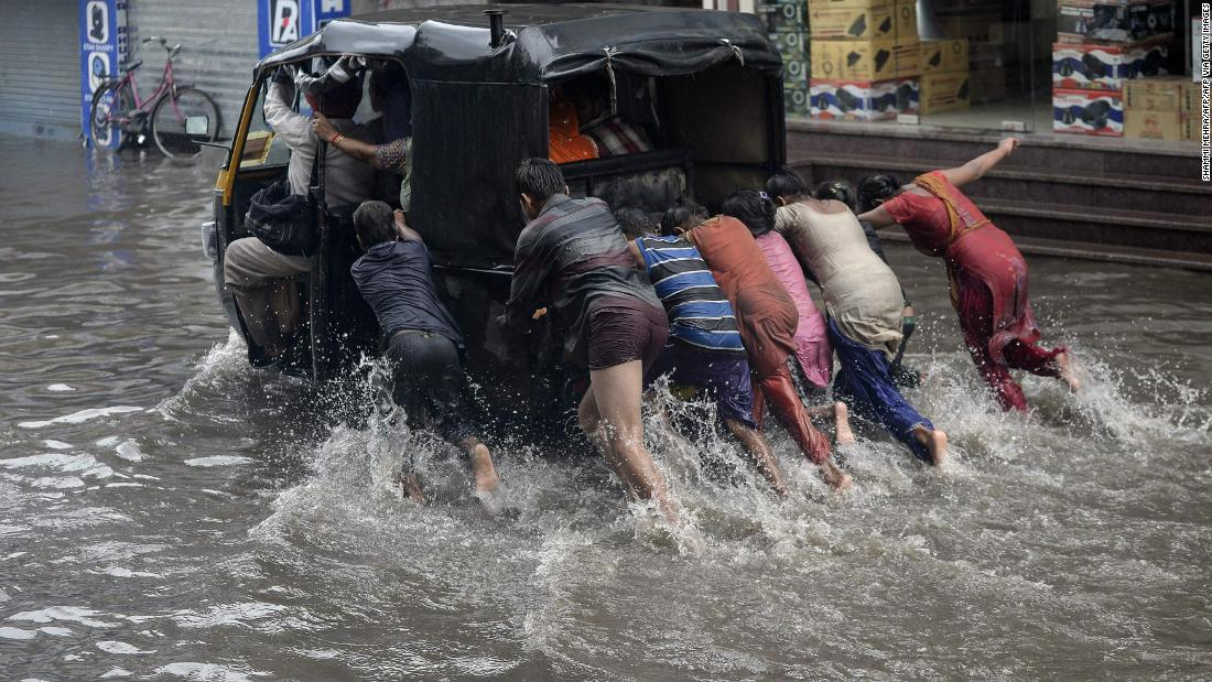 Changes in India's rainfall could seriously impact a billion people