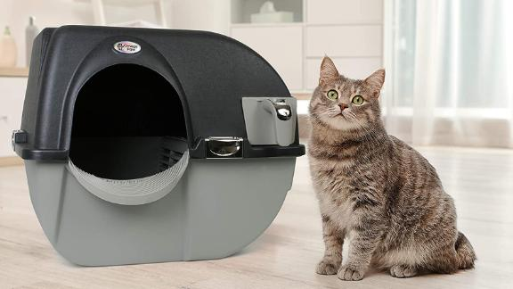 Omega Paw Elite Roll 'n Clean Litter Box