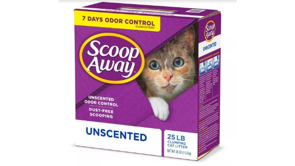 Scoop Away Unscented Clumping Clay Litter