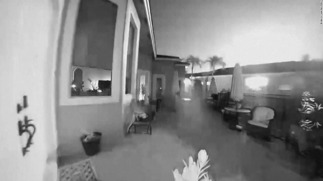 Security camera captures meteor in Florida