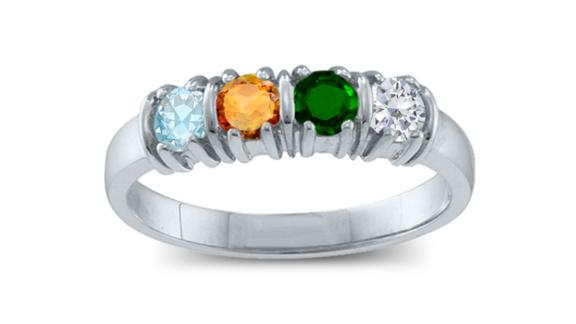 Mother's Birthstone Ring