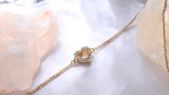 Verlas Mini-Heart Silhouette Bracelet