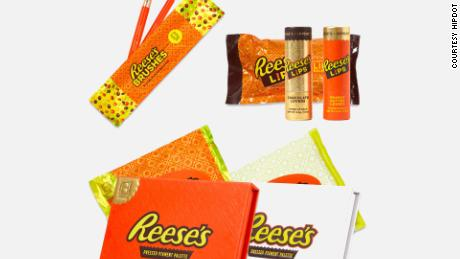 The new Reese's makeup line.
