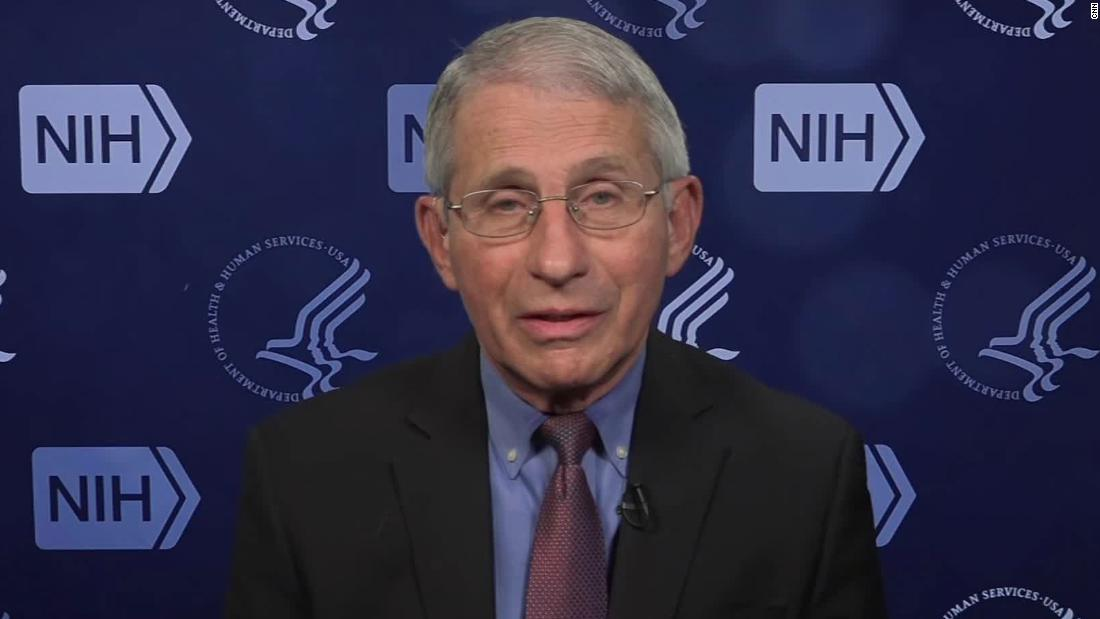 Fauci says this is a pause and not a cancellation of the J&J vaccine