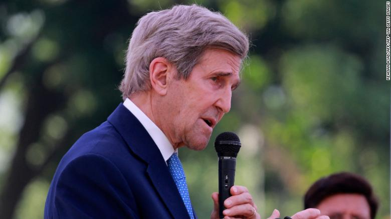 John Kerry's 'full speed' mission to restore American leadership on the climate crisis