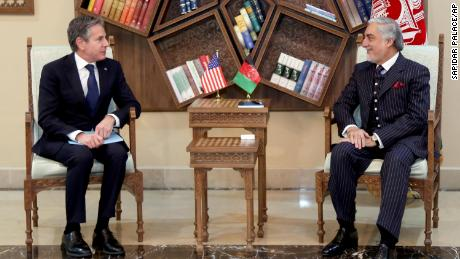 Secretary of State Blinken visits Afghanistan day after US announces plans for withdrawal