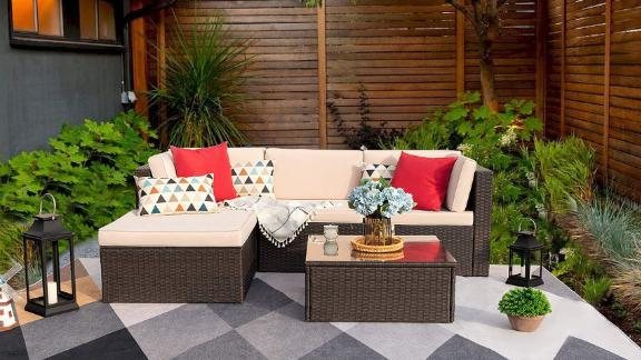 Devoko 5-Piece Patio Furniture Set