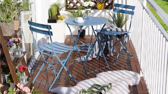 Grand Patio Set Folding Steel Patio Bistro Set