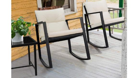 Devoko 3-Piece Rocking Bistro Set