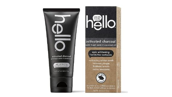Hello Activated Charcoal Epic Whitening Fluoride-Free Toothpaste