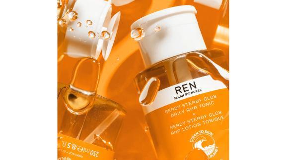 Ren Clean Skincare Ready Steady Glow Daily AHA Toner
