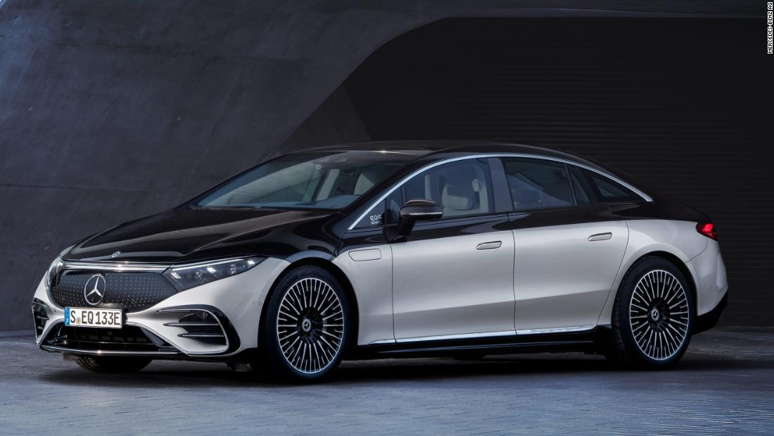 Mercedes' new electric car has a nap mode and doors that open for you – CNN