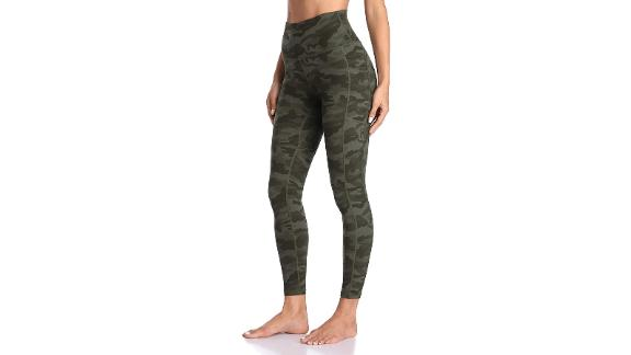 Colorful Koala Women's High-Waisted Yoga Pants 7/8 Length Leggings With Pockets