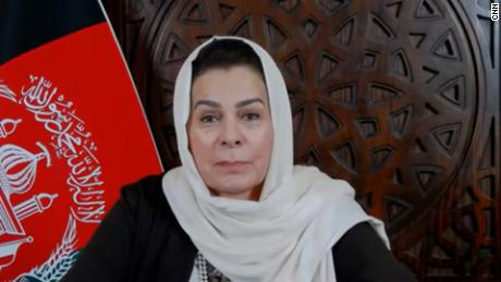 CNN's Becky Anderson speaks with Fatima Gailani, an Afghan women's rights activist and government peace negotiator, about her views on the planned withdrawal of foreign troops from Afghanistan.