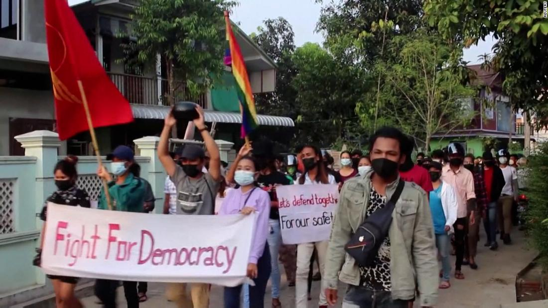 Myanmar's control of Covid collapses after coup