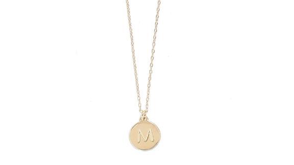 Kate Spade Mini Initial Pendant Necklace
