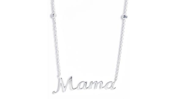 Argento Vivo Mama Pendant Necklace