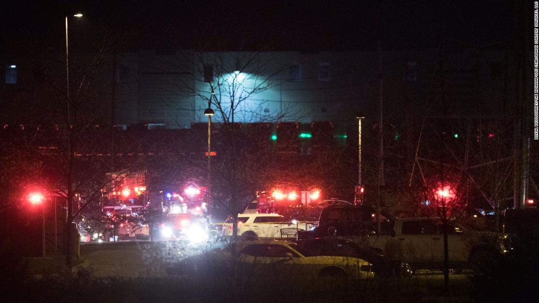 Indianapolis shooting: 8 people killed at FedEx facility, police say